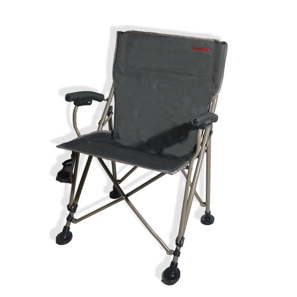 ZGL 旅行椅子 屋外折りたたみ椅子アームレストアームチェアビーチリクライナーポータブル釣りチェアキャンプスツールパークレジャーチェア B07DHT2H37