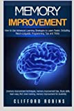 img - for Memory improvement: The ULTIMATE Guides to train the brain : Memory improvement, Speed reading and NLP 3 in 1 book set book / textbook / text book
