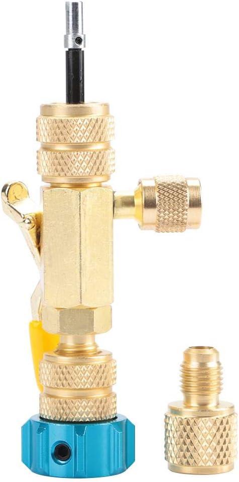 R22 R410 Removedor de núcleo de válvula Instalador Cambiador Núcleo de válvula Herramientas Refrigeración Aire acondicionado Servicios
