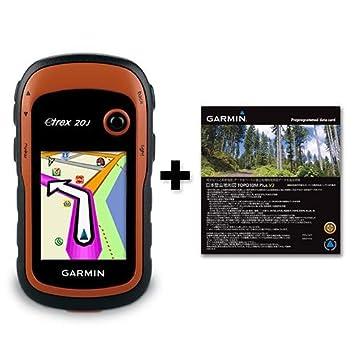 a3f5202ef6 GARMIN(ガーミン) ハンディGPS eTrex20J 日本登山地形図 TOPO10M_V3 microSD版付き【