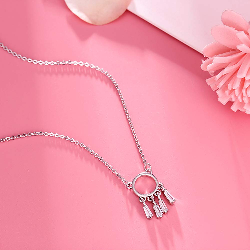38 Year Old Birthday Gifts for Women 925 Sterling Silver Womens Dreamcatcher Necklace 38th Birthday Gifts for Women Funny 38th Birthday Gifts for Women