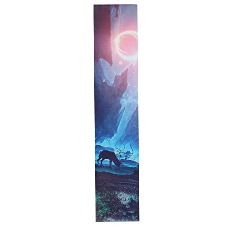 Homyl Etiqueta Engomada de Papel de Lija de Patín Skateboard Longboard Multiusos - Multicolor 5