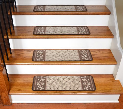 Amazing Amazon.com: Carpet Stair Treads   Caramel Scroll Border: Everything Else