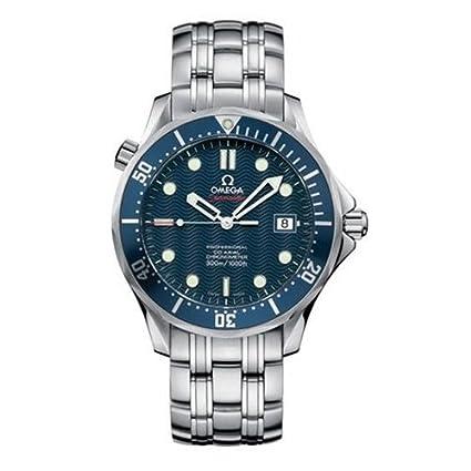 Omega 2220.80.00 - Reloj para hombres, correa de acero inoxidable: Amazon.es: Relojes