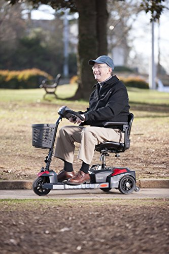 Drive Medical Scout Compact Travel Power Scooter, 3 Wheel, Extended Battery by Drive Medical (Image #16)