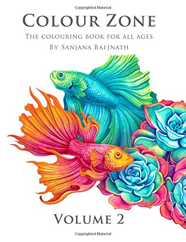 Amazon.com: Colour Zone Volume 2: The colouring book for all ages ...