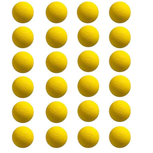 Champion Dog Target (Champion Sports Colored Lacrosse Balls: Official Size for Professional, College & Grade School Games - NCAA, NFHS, Certified)
