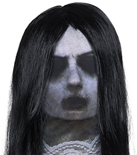 Rubie's Costume Co Men's Ghost Mask, Multi, One Size (Halloween Masks Scary)