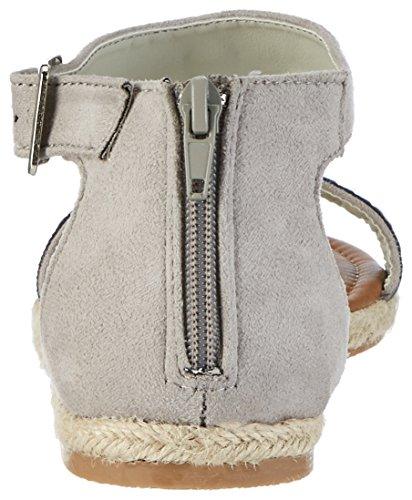 Refresh 63377 - Sandalias con cuña Mujer Elfenbein (Hielo)