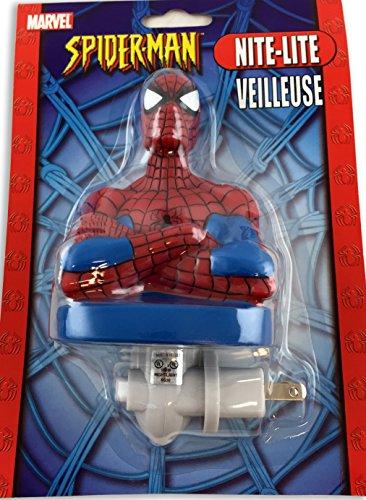 Marvel Spiderman Figural Night Light product image