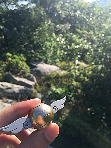 Golden Snitch Fidget Spinner for HP Quidditch Fans with Hybrid Bearings