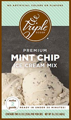 Triple Scoop Ice Cream Mix, Mint Chocolate Chip, - Ice Cream Fresh