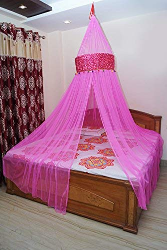Creative Textiles Multicolour Polyester Blend Mosquito Net Size Standard