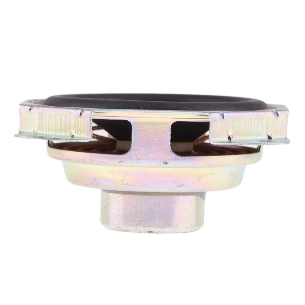 4 Ohms 15W Full Range Audio Stereo Woofer Loudspeaker Horn Black H HILABEE 2.75 Square Speaker
