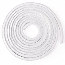 Surepromise Seal Brush Pile Dust Excluder Self Adhesive Strip Tape 15mm For Door Window 5M White