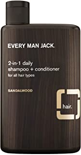 product image for Every Man Jack Shampoo 2-In-1 Sandalwood 13.5 Ounce (400ml) (Pack of 6)
