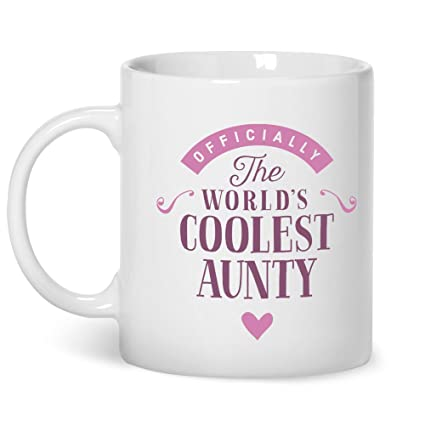 Aunty Gift Coolest Auntie Gifts For Birthday Best Mug Coffee Amazoncouk Kitchen Home