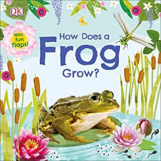 Book Cover: How Does a Frog Grow?