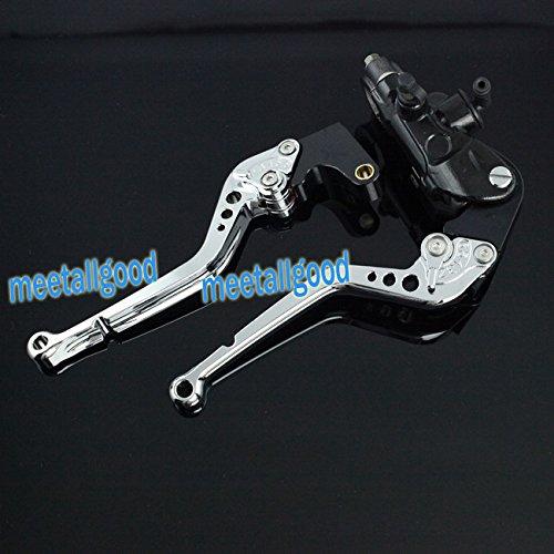 GZYF New Front Master Cylinder Brake Clutch Levers For Suzuki GSXR 600 750 04 05 E3