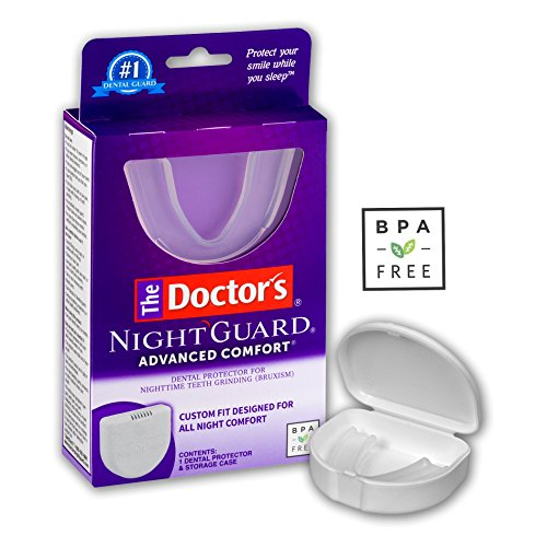 The Doctor's Advanced Comfort NightGuard | 1 Dental Guard and Case | Dental Protector for Nighttime Teeth Grinding, 1 Count