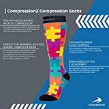 Compression Socks Men & Women - Solid Colors
