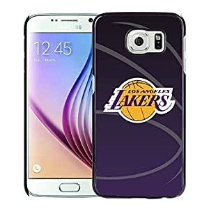 New Custom Design Cover Case For Samsung Galaxy S6 laker 11 Black Phone Case
