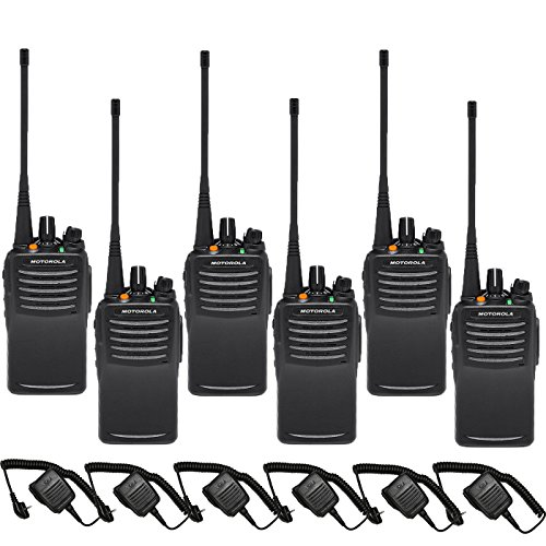 Motorola Intrinsically Safe VX-451 UHF PREPROGRAMMED 6 Pack with Speaker - Safe Intrinsically Radios
