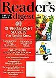 Reader's Digest LARGE PRINT Magazine March 2018 | 40 Supermarket Secrets