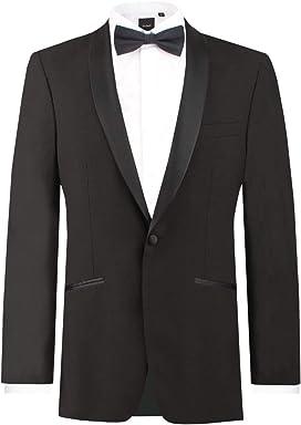Dobell Mens Cream Linen Tuxedo Jacket Regular Fit Shawl Lapel