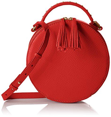 Hampton Bag 2 Circle Cherry The Fix Leather Crossbody Red RxO5w54Fq