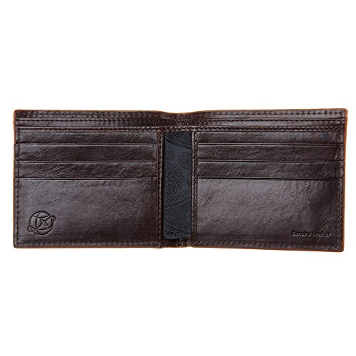Carter Simon Simon Brown Cinnamon Edge Carter Carter Simon Brown Mens Brown Wallet Brown Edge Mens Cinnamon Cinnamon Wallet waqAPnxvAR