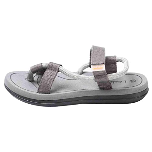 QinMM Sandalias y Chanclas Deportivas Planas de Playa para Hombres Zapatos Verano Sandalias Deporte Antideslizante