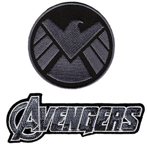 Avengers Movie Shield Costume Shoulder Patch Set of