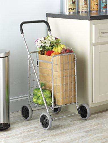 Review Whitmor Utility Shopping Cart