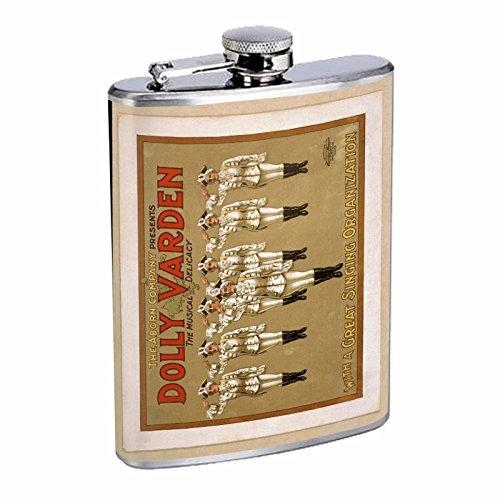 全国総量無料で Perfection Inスタイルステンレススチールフラスコ8オンスビンテージポスターd-113 Dolly Perfection Varden The Dolly Musical Delicacy B016B7KS2A Aborn会社 B016B7KS2A, 糸満市:672b06d7 --- domaska.lt