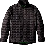 The North Face Kids Boy's Thermoball Full Zip Jacket (Little Kids/Big Kids Graphite Grey/Classic Green Medium