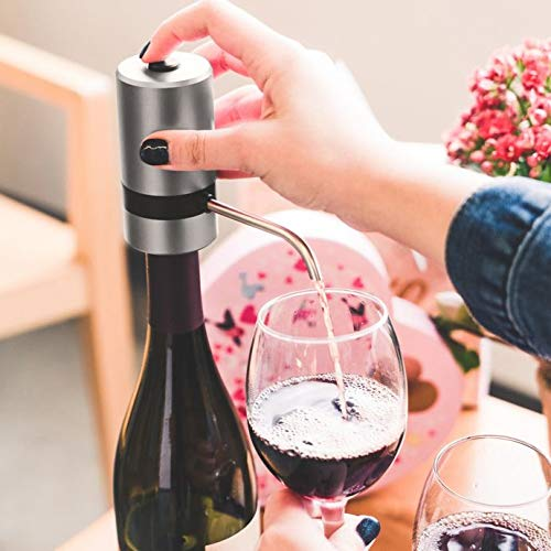 Waerator Easy to Use Wine Aerator in Grey Perfect for Maximizing and Enhancing the Flavor of Your Wine by Generic (Image #4)