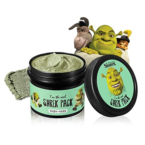[DCKR Real Shrek Wash-Off Pack - Pore Minimizer and Sebum Remover for Deep Pore Cleansing by Pure Clay Ingredient from France - Made in] (Homemade Superhero Costumes For Girls)