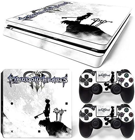 46 North Design Ps4 Slim Playstation 4 Slim Pegatinas De La Consola Anime + 2 Pegatinas Del Controlador: Amazon.es: Videojuegos