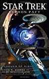 img - for Typhon Pact: Plagues of Night (Star Trek) book / textbook / text book