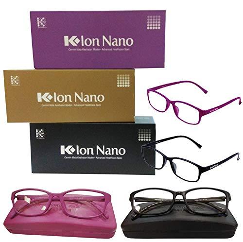 K-link Unisex Computer Black Reading Glasses Anti Radiation Eyewear Eyeglass for Home & Office