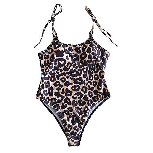 up Intero push costumi Donne pezzo Tkini costume Mare Boemia bagno da un stampato Yanhoo Coordinati Bikini Costume da bikini Swimsuit Beachwear Costume Donna Push Costume up Sexy Marrone q5rdx0YdwH