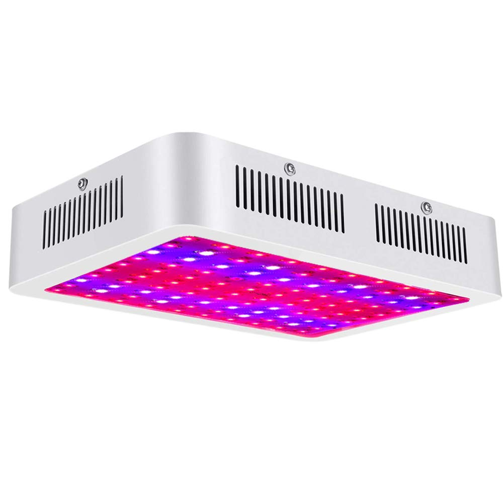 JHOTEC Growing Lights, 1000W LED Grow Light, Full Spectrum with UV and IR LED Plant Growing Lamp,Plant Lights for All Growing Phases of Indoor Veg and Flower