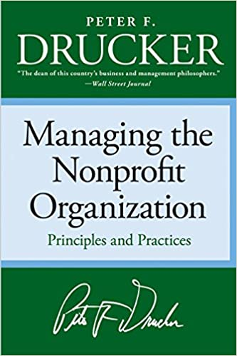 image for Managing the Non-profit Organization: Principles and Practices