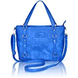 Image of Crossbody Bags for Women,ZMSnow PU Leather Fashion Satchel Shoulder Handbags (4-Blue)
