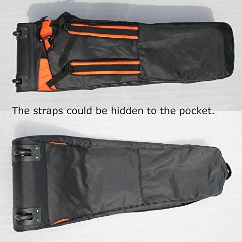 ZJ SPORT Dragon Boat Paddle Team Bag With Wheels by Z&J SPORT (Image #1)