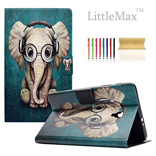 Tab A 8.0 2017 Case - LittleMax(TM) [Cards Holder] Ultra Slim Lightweight Thin PU Leather Stand Flip Case Cover with Auto Sleep/Wake for Samsung Galaxy Tab A 8.0