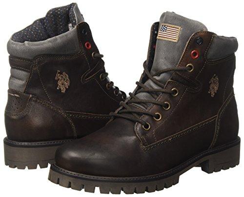 Marron U Assn dark Desert Femme polo Dkbr Boots Schine s Brown 0HPqrn80