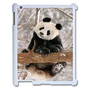Bricolaje lindo adorable Panda cubierta de encargo para iPad 2 3 4 concha blanca DANGDANG™ teléfono [patrón-3]