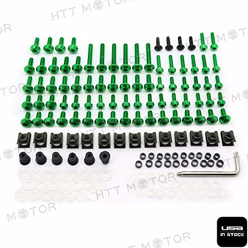 HTTMT- CNC Fairing Bolts Kit For Yamaha YZF R6 2003-2005 03 04 05 New US Stock